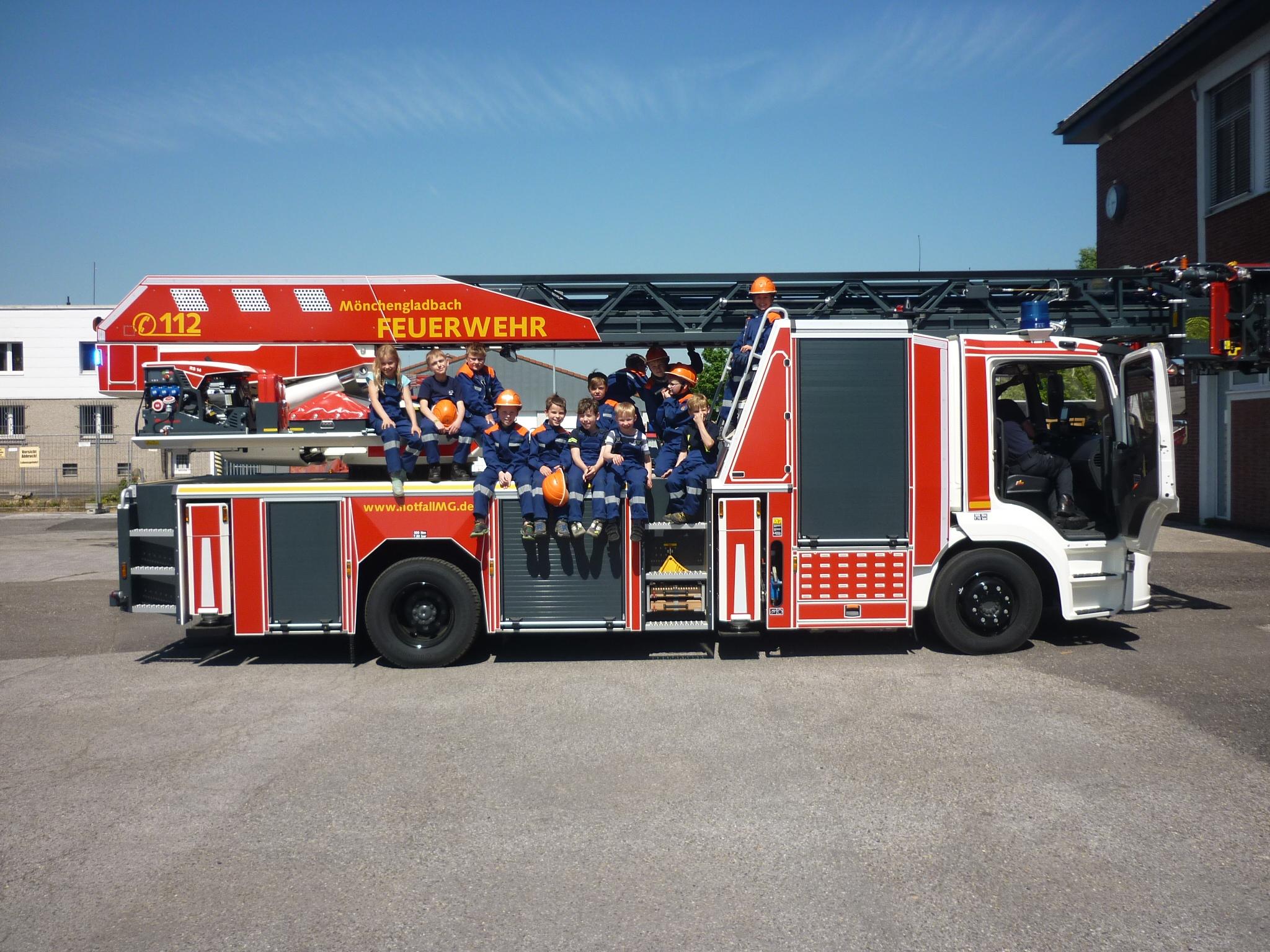 Feuerwehr-AG on Tour